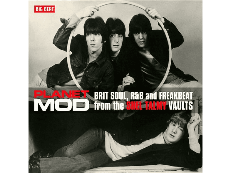 VARIOUS - Planet Mod-Brit Soul And R&B (180 Gr.Red 2LP) [Vinyl]