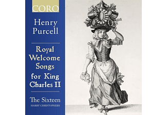Sixteen,The/Christophers,Harry - Royal Welcome Songs for King Charles II - (CD)