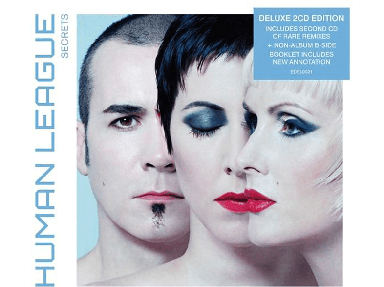 The Human League - Secrets (Deluxe 2CD-Edition) [CD]