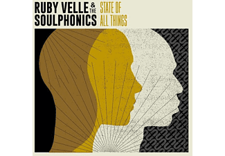 Ruby Velle & The Soulphonics - State Of All Things - (CD)