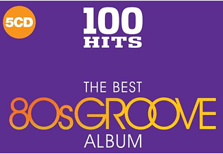 VARIOUS - 100 Hits-Best Of 80's Groove - (CD)