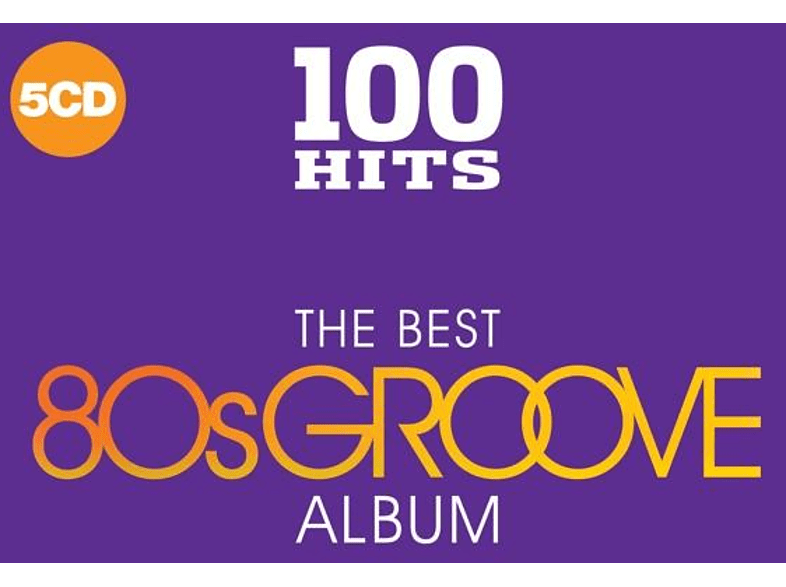 VARIOUS - 100 Hits-Best Of 80's Groove [CD]