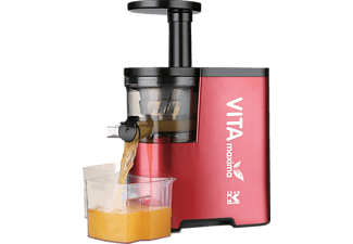 TEAM-KALORIK FE 1010, Slow Juicer, Rot