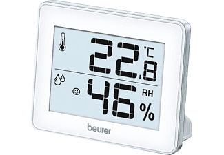 BEURER HM 16 THERMO-HYGROMETER Thermo-Hygrometer (Weiss)