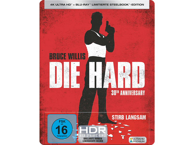 STIRB LANGSAM (STEELBOOK) [4K Ultra HD Blu-ray + Blu-ray]