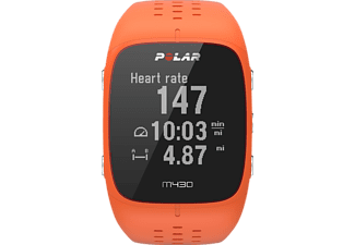 POLAR  M430, GPS-Trainingscomputer, 130-230 mm, Silikon, Orange