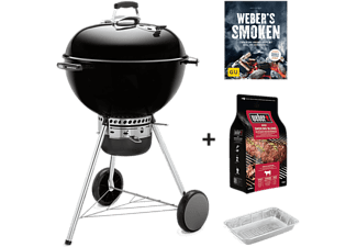 weber holzkohlegrill master touch gbs pro set mit 57 cm durchmesser in schwarz mediamarkt. Black Bedroom Furniture Sets. Home Design Ideas