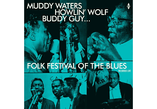 Muddy/howlin' Wol Waters - Folk Festival Of The Blues With Muddy Waters,Howl - (Vinyl)