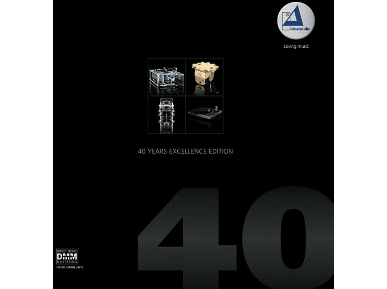 VARIOUS - Clearaudio-40 Years Excellence Edition [Vinyl]