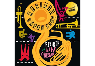 The Rebirth Brass Band - Rebirth Of New Orleans - (Vinyl)