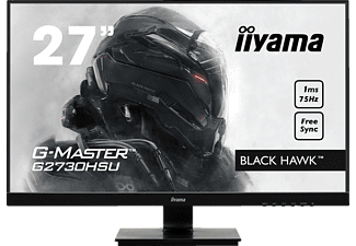 IIYAMA G-MASTER G2730HSU-B1 27 Zoll Full-HD Gaming Monitor (1 ms Reaktionszeit, FreeSync, 75 Hz)
