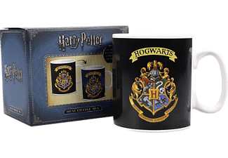 Harry Potter Thermo- effekt-Tasse XL Hogwarts