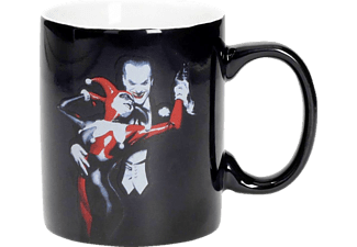 SD DISTRIBUCIONES DC Comics Tasse Harley Quinn & Joker Masterworks Collection Tasse, Weiß