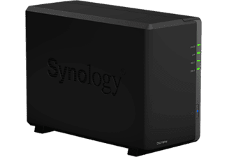 SYNOLOGY DiskStation DS218play - NAS-Server - 2x 4 TB NAS Schwarz
