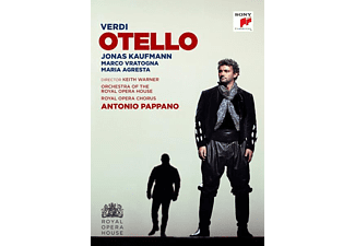 Jonas Kaufmann, Marco Vratogna, Maria Agresta, Orchestra Of The Royal Opera House, Royal Opera Chorus - Otello - (DVD)