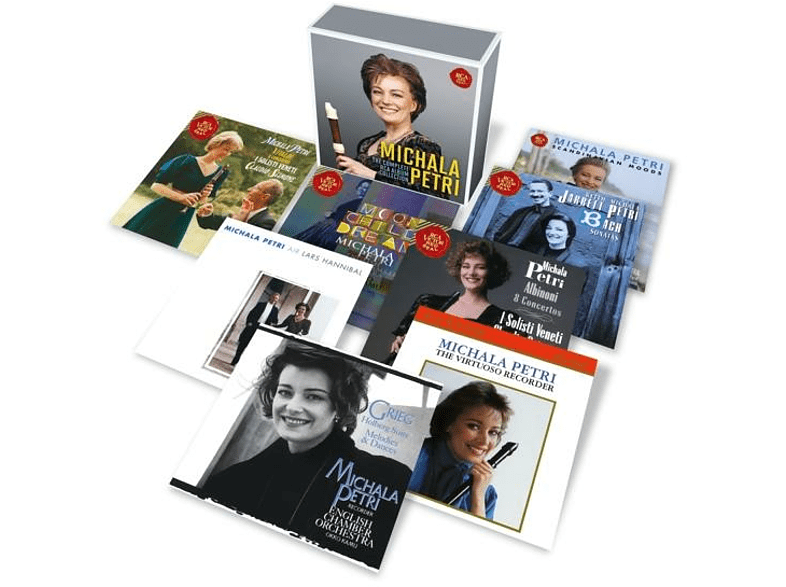 Michala Petri - Michala Petri-The Complete RCA Album Collection [CD]