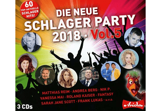 VARIOUS - Die neue Schlager Party,Vol.5 (2018) - (CD)