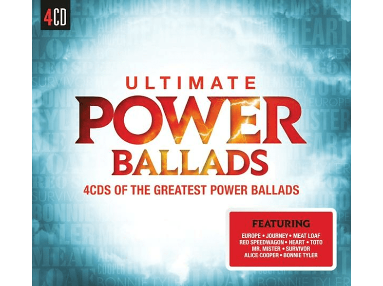 VARIOUS - Ultimate...Power Ballads [CD]
