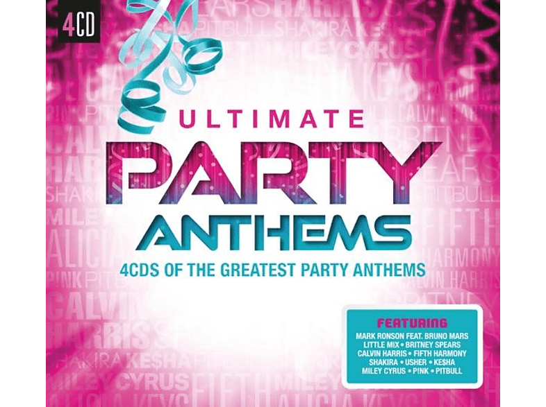 VARIOUS - Ultimate...Party Anthems [CD]