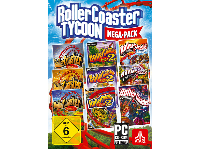 RollerCoaster Tycoon Mega-Pack [PC]