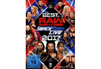 The Best of Raw & Smackdown 2017 - (DVD)