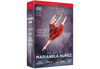Mariella Nunez & The Royal Ballet - Don Quixote/Giselle/La fille mal gardée/Swan Lake - (DVD)