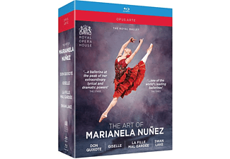 Mariella Nunez & The Royal Ballet - Don Quixote/Giselle/La Fille Mal Gardée/Swan Lake - (Blu-ray)