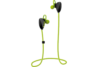 VIVANCO Sport Air Helmet, In-ear Kopfhörer, Headsetfunktion, Bluetooth, Grün