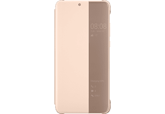 Smart View Bookcover Huawei P20 Kunststoff Pink