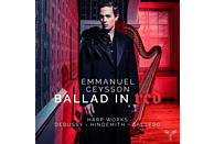 Cécile Roubin, Sarah Dayan, Guillaume Becker, Lydia Shelley, Quatour Voce, Emmanuel Ceysson - Ballad In Red: Harp Works [CD]
