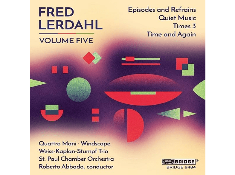 VARIOUS - Fred Lerdahl,Volume Five [CD]