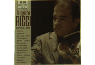 Ruggiero Ricci - Milestones of a Legend - (CD)