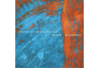 Stephi Zimmermann Trio - The Same,But Different - (CD)