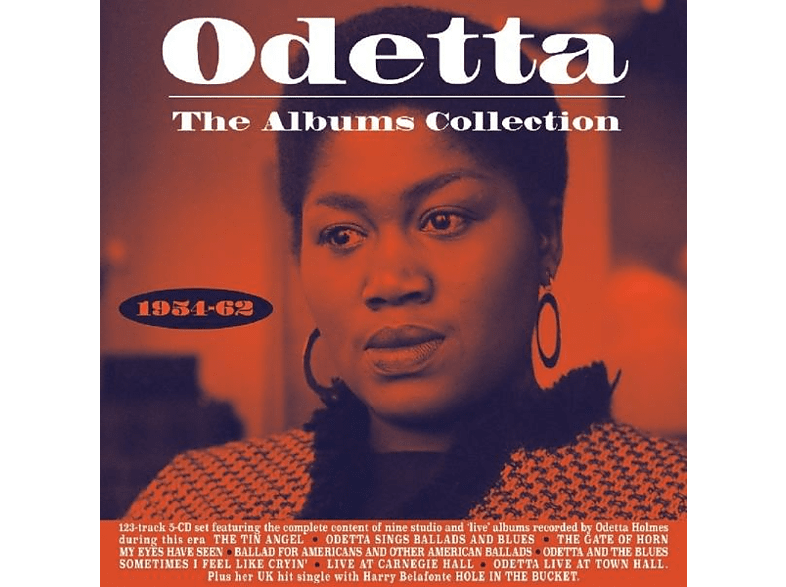 Odetta - The Albums Collection 1954-62 [CD]