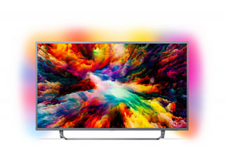 "PHILIPS 50PUS7303 50"" 126 Ekran Uydu Alıcılı Android Smart 4K Ultra HD LED TV"