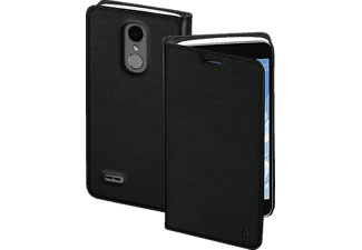 Slim Bookcover LG K11 High-Tech-Polyurethan Schwarz