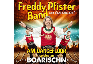 Freddy Band Pfister - Am Dancefloor spielns an Boarischn - (CD)