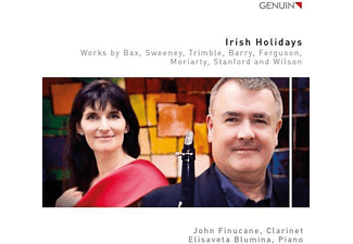 John Finucane, Elisaveta Blumina - Irish Holiday-Werke für Klarinette & Piano - (CD)