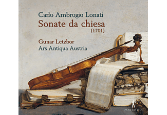 Ars Antiqua Austria, Gunar Letzbor - Sonate da Chiesa - (CD)
