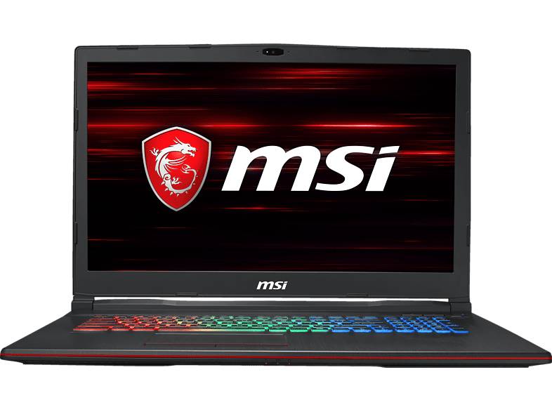 MSI  GP73 8RD-056DE Leopard, Gaming Notebook, Core i7 Prozessor, 256 GB SSD, 1 TB HDD, GeForce® GTX 1050 Ti, Schwarz | 04719072571160