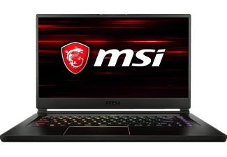 MSI GS65 8RE-020DE Stealth Thin, Gaming Notebook, Core i7 Prozessor, 16 GB RAM, 512 GB SSD, GeForce® GTX 1060, Schwarz/Gold