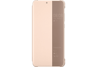 HUAWEI P20 pink flip cover