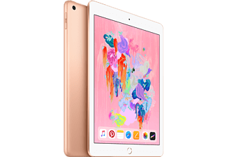 "APPLE iPad 9.7"" (2018) 4G 128GB Surfplatta - Guld (MRM22KN/A)"