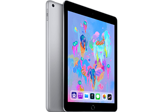 "APPLE iPad 9.7"" (2018) 128 GB Cellular - Grå"