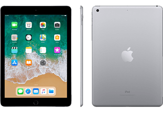 APPLE iPad (2018), Tablet mit 9.7 Zoll, 32 GB, iOS 11, Space Grey