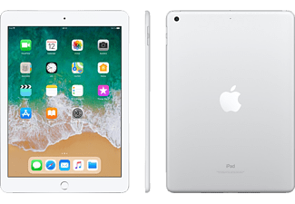 APPLE iPad (2018), Tablet mit 9.7 Zoll, 128 GB, iOS 11, Silver