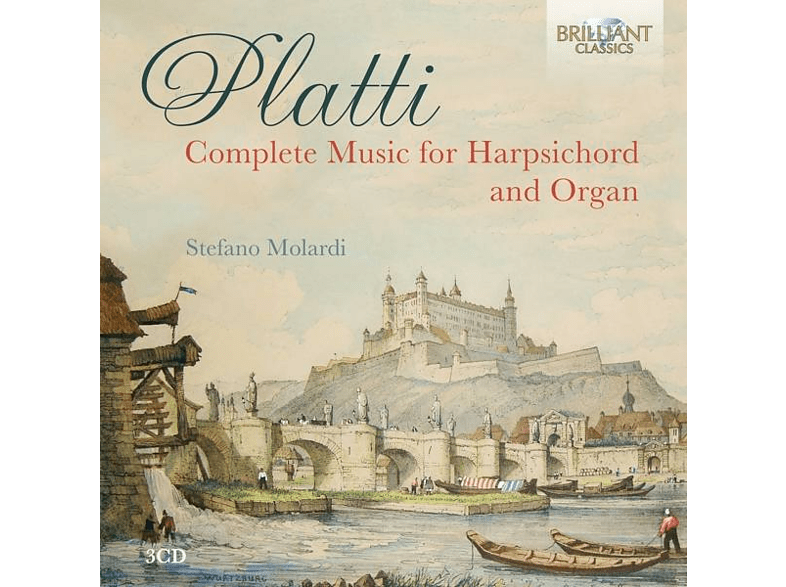 Stefano Molardi - Complete Music For Harpsichord & Organ [CD]