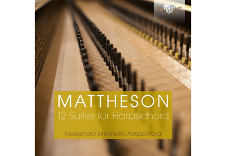Alessandro Simonetto - 12 Suites For Harpsichord - (CD)