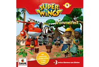 Super Wings - 004/Trommelfest - (CD)