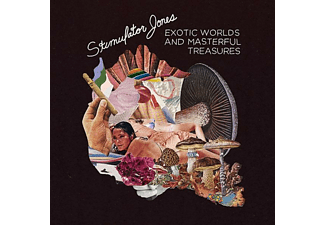 Stimulator Jones - Exotic Worlds And Masterful - (Vinyl)